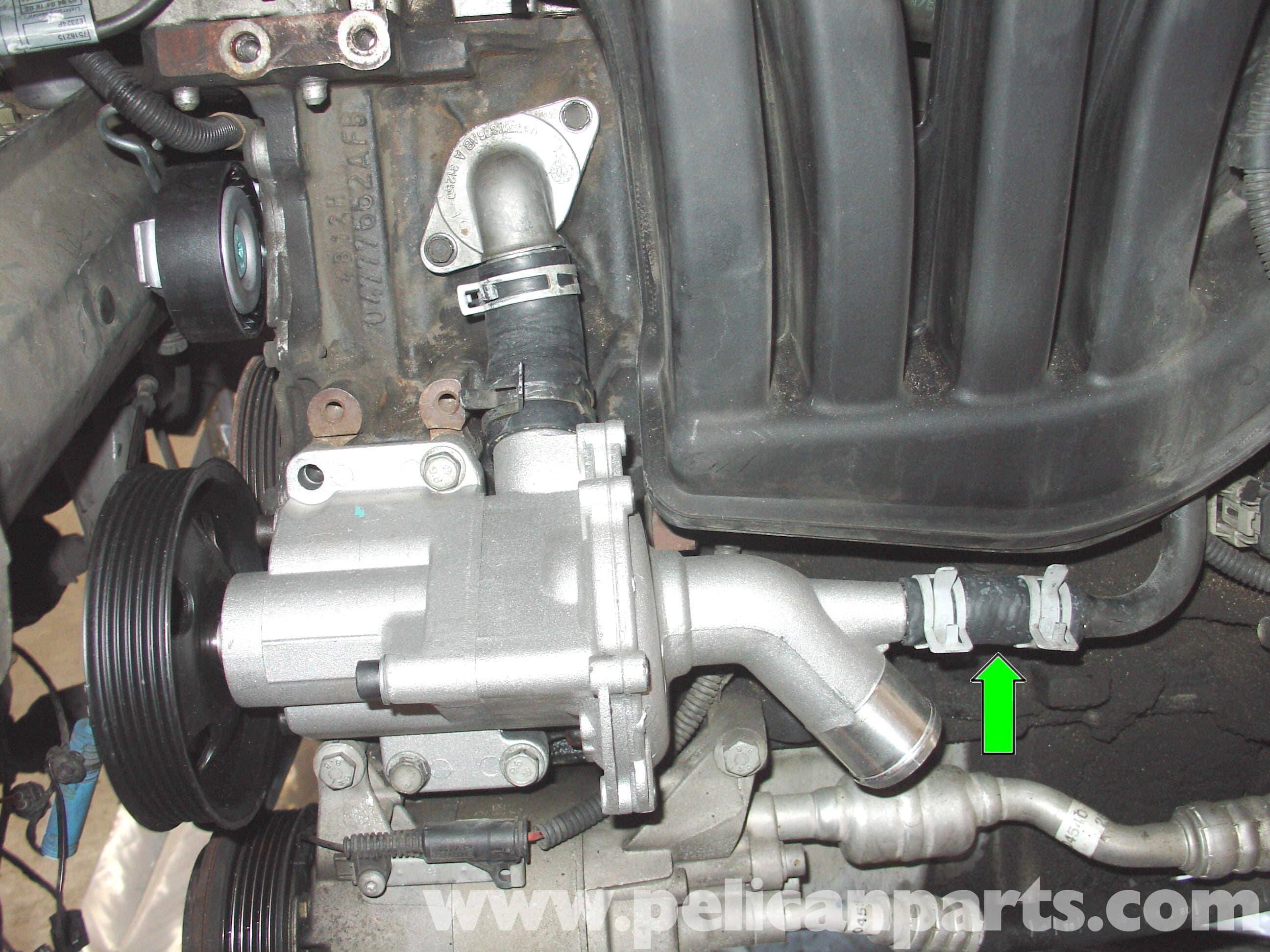 Mini Cooper R50 Water Pump Replacement R50 2001 2006
