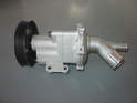 Shown here is a new water pump for the MINI Cooper.