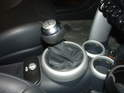 The last step is to pop the shift knob back onto the new shift lever.