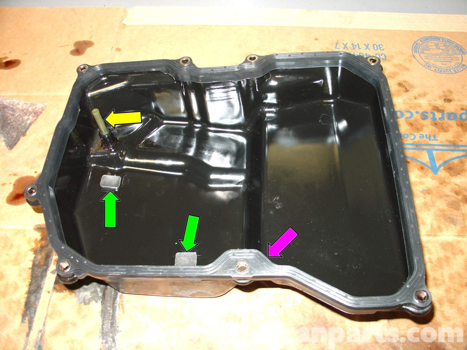 Mini Cooper Automatic Transmission Fluid Change R50 R52