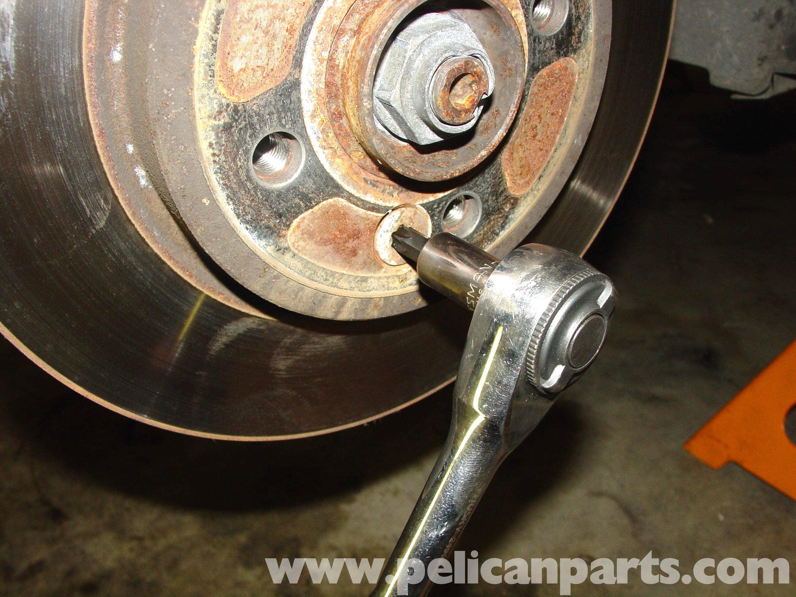 Mini Cooper Brake Disc Replacement R50 R52 R53 2001 2006