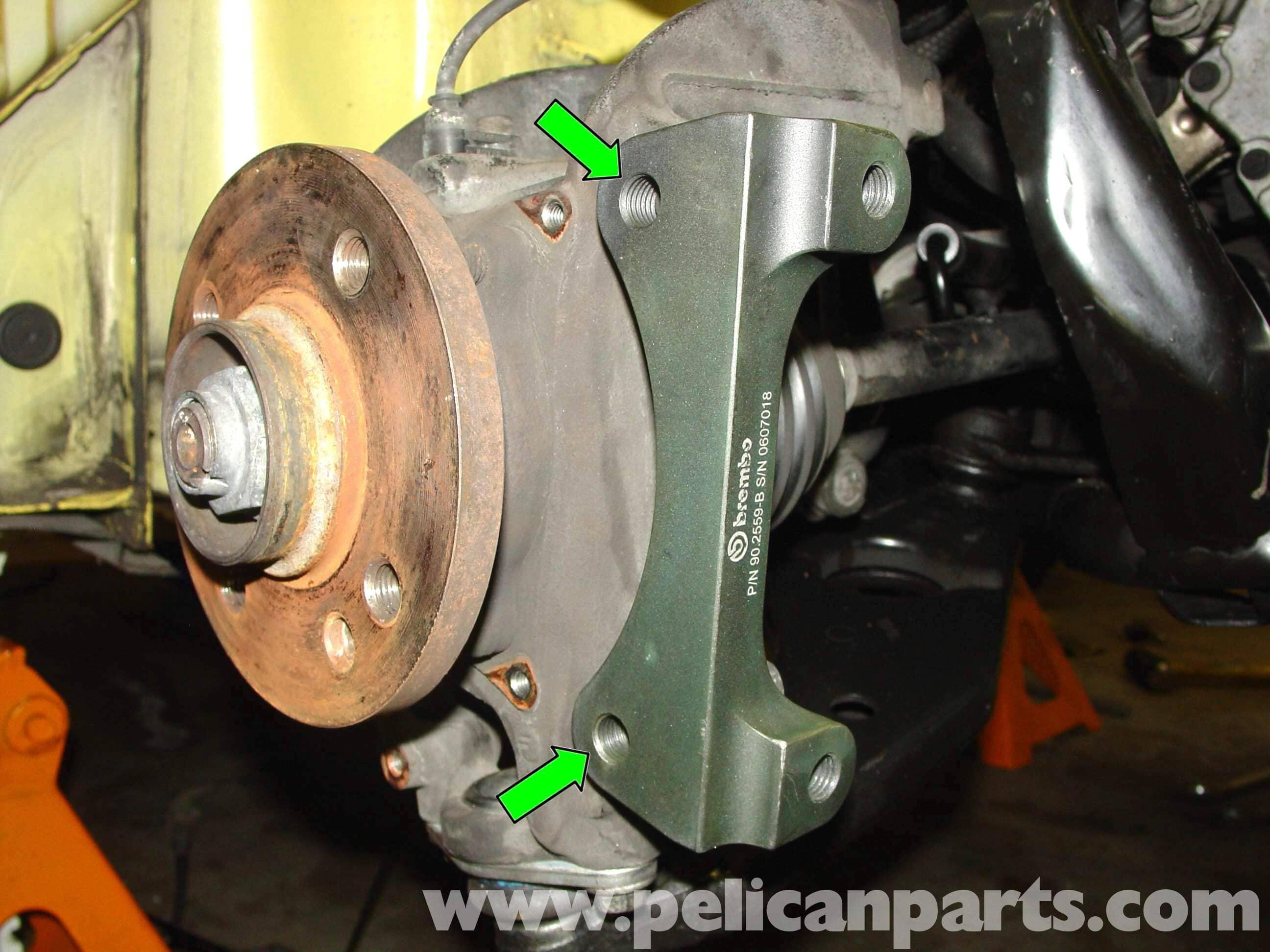 Brembo Brake Kit >> MINI Cooper Brembo Big Brake Installation (R50/R52/R53 2001-2006) | Pelican Parts DIY ...