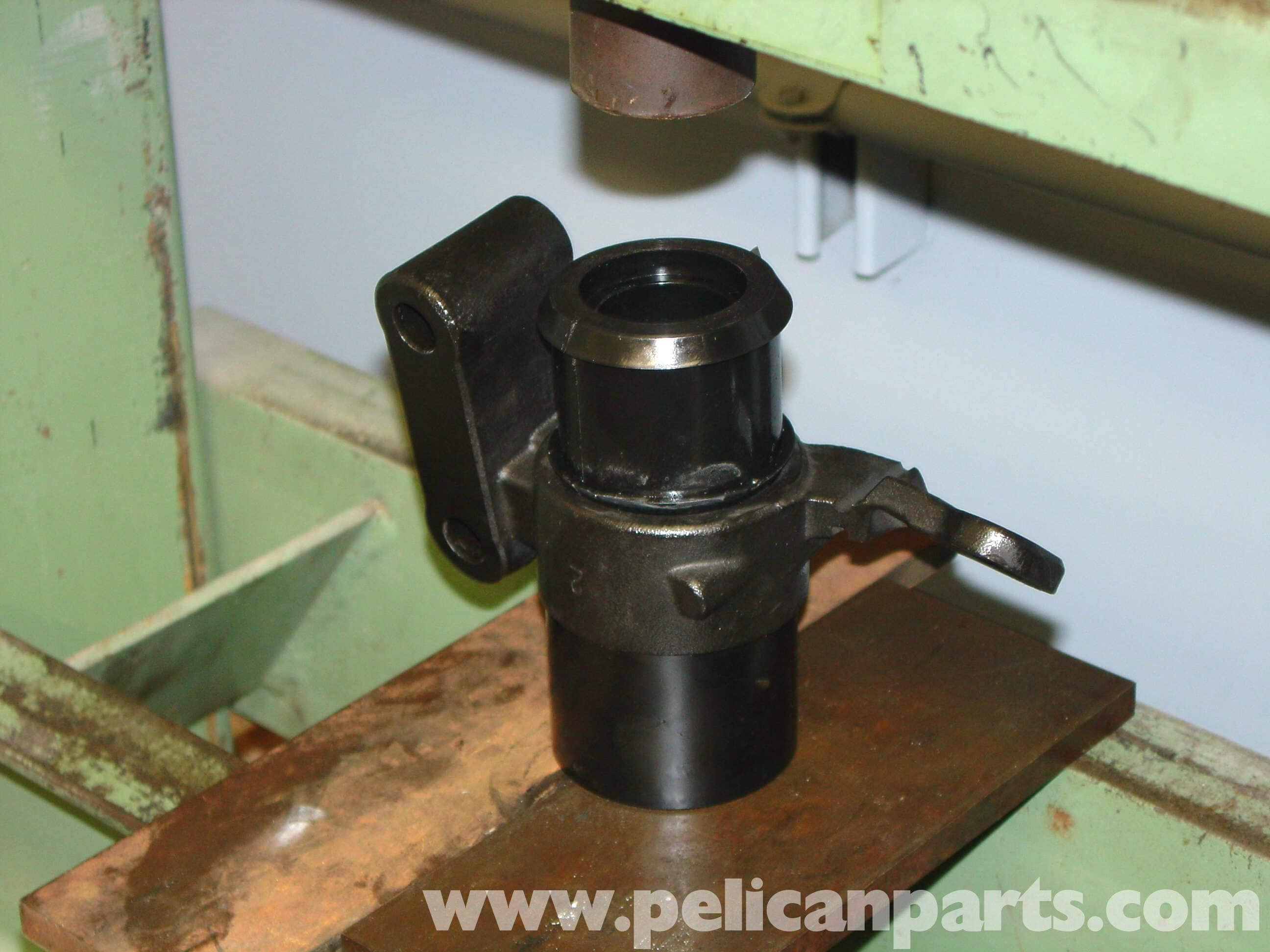 Mini Cooper Control Arm Bushing And Ball Joint Replacement