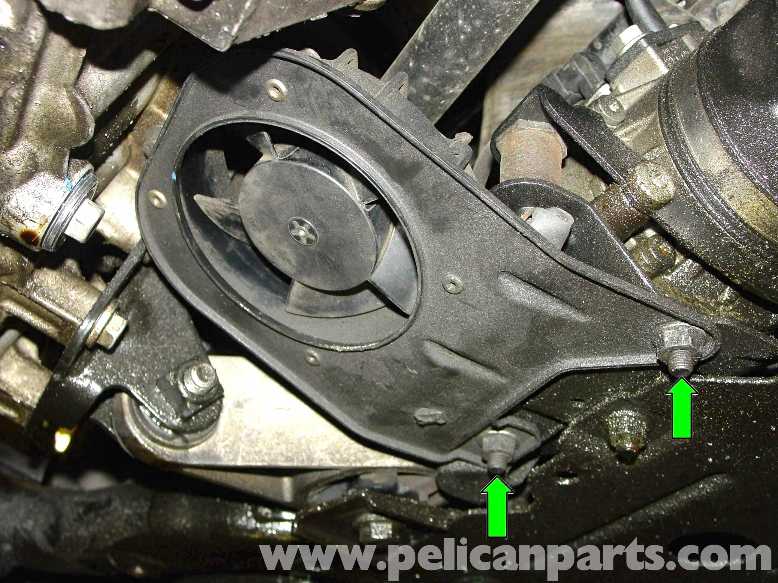 Mini Cooper Power Steering Pump Replacement R50 R52 R53 2001 2006 Pelican Parts Diy Maintenance Article