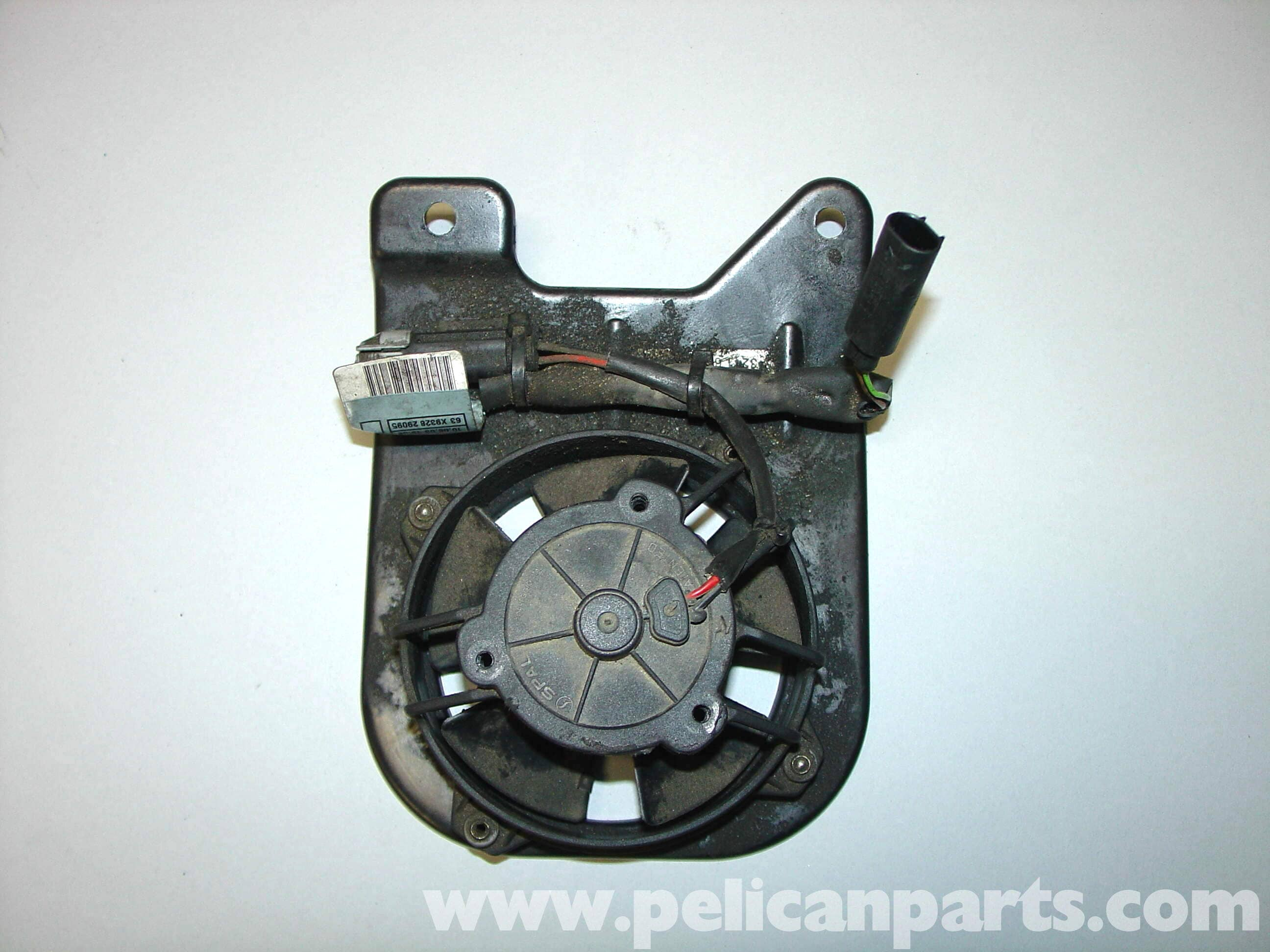 Mini Cooper Power Steering Fan Replacement R50 R52 R53 2001 2006 Renault Scenic Fuse Box Under Bonnet Large Image Extra