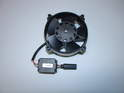 Shown here is a new power steering fan assembly.