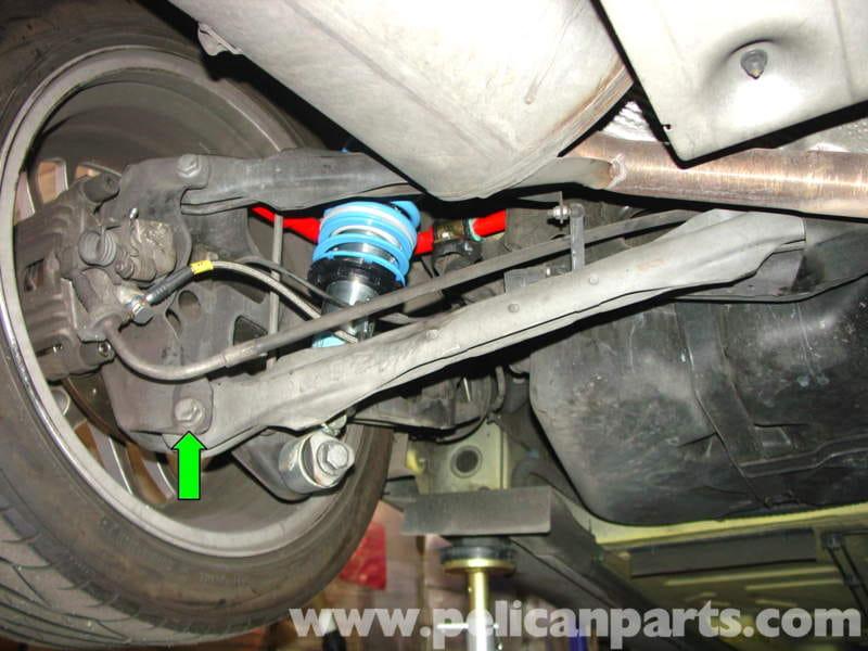 Mini Cooper Adjustable Rear Control Arm Installation R50
