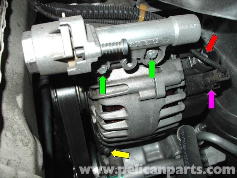 Mini Cooper Alternator Replacement R50 R52 R53 2001 2006