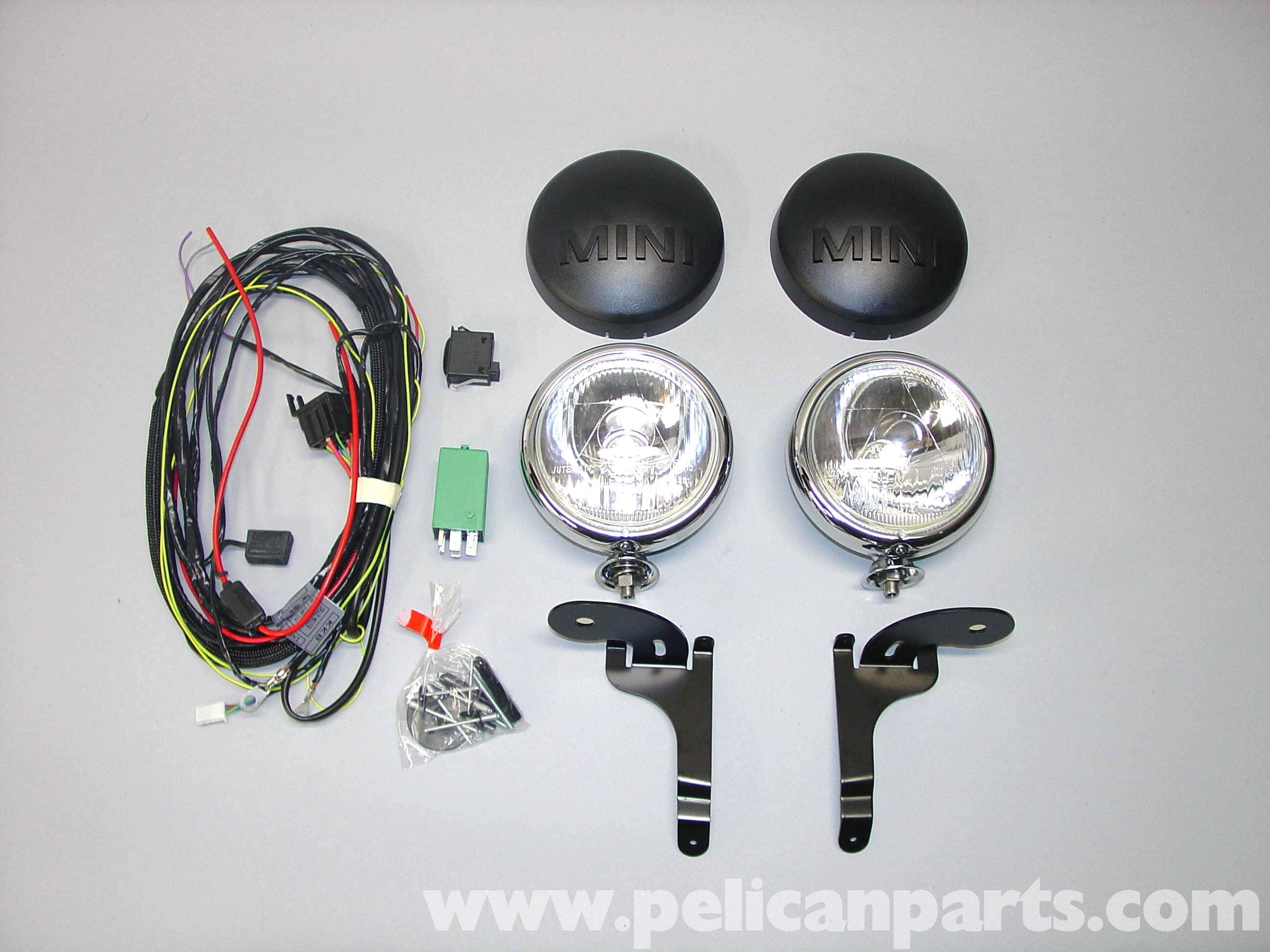 Extra Headlights Wiring Diagrams Mini Cooper Headlight Diagram Driving Light Installation R50 R52 R53 2001 Basic 3 Wire