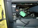 Inside the car, secure the relay socket to the wiring harness and plug in the relay supplied with the kit.