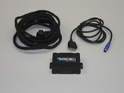 Shown here are the contents of the DICE electronics iPod integration kit.