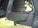 Inside the access panel, you'll find the harness for the CD changer (if your car did not already have one).