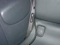 Take the other end of the new cable harness and route it underneath the rear folding seat.