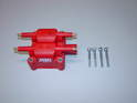 Shown here is the new MSD coil pack along with 4 new M8x35 bolts that you will need in order to install the new coil.