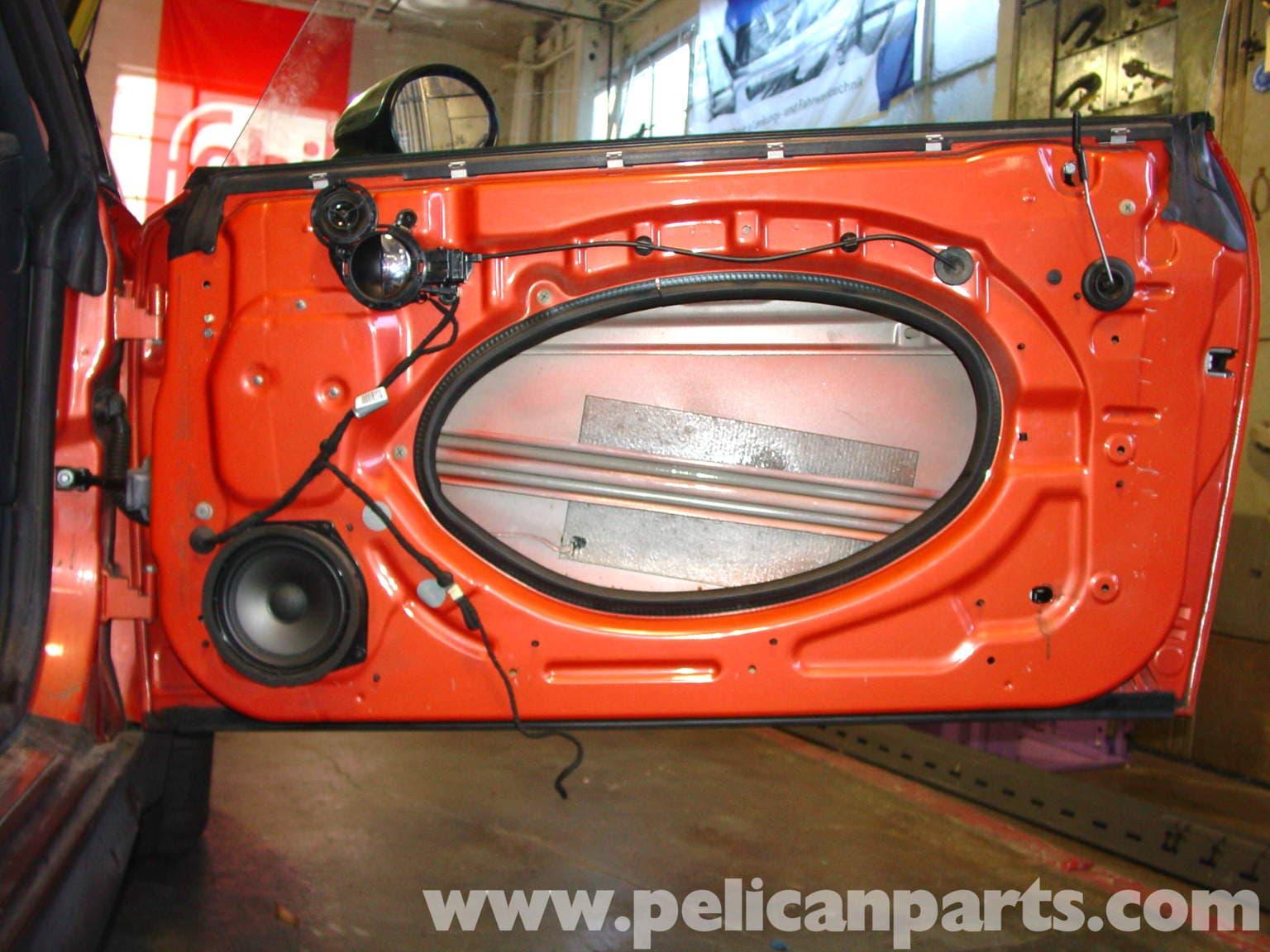 Mini Cooper Window Regulator Replacement R50 R52 R53 2001