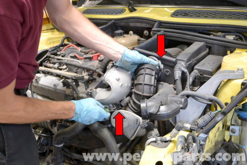 mini r53 throttle body cleaning and replacement