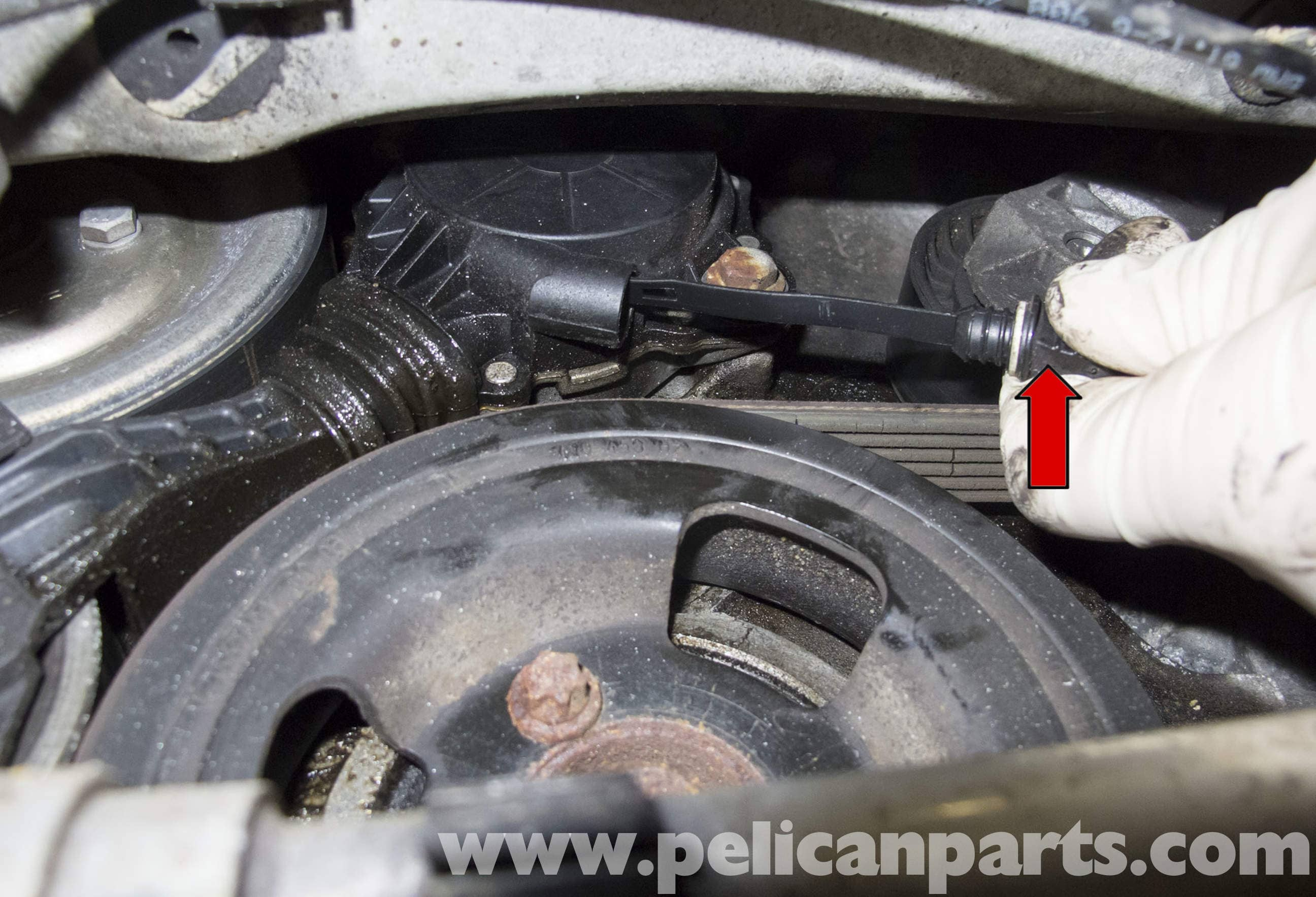 MINI Cooper R56 Drive Belt Replacement (2007-2011) | Pelican Parts