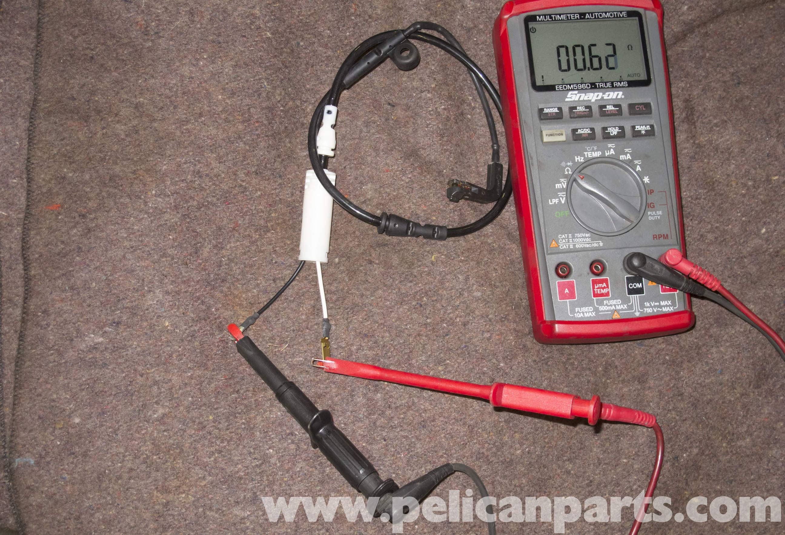 2008 Mini Cooper Brake Sensor Wiring Diagram 05 Brakes R56 Pad Testing 2007 2011 Pelican Parts