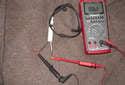 The sensor is a two-stage brake pad wear sensor.