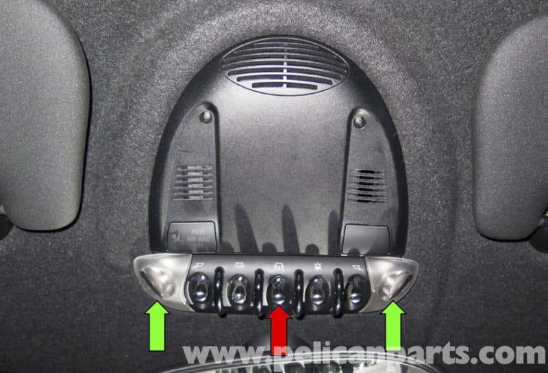 Mini Cooper Models >> MINI Cooper R56 Roof Switch Replacement (2007-2011 ...