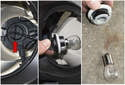 Rotate the bulb holder 45° and remove it from the headlight.