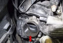 Turbocharger Only the N14 (turbocharged) engine uses an electronic throttle housing (red arrow) to control engine load (however, all engines are equipped with an electronic throttle housing), speed and idle.