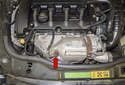 Exhaust manifolds and oxygen sensors N12 and N16 normally aspirated engines are equipped with conventional exhaust manifolds.