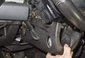 Pull the bottom cover off the steering column.