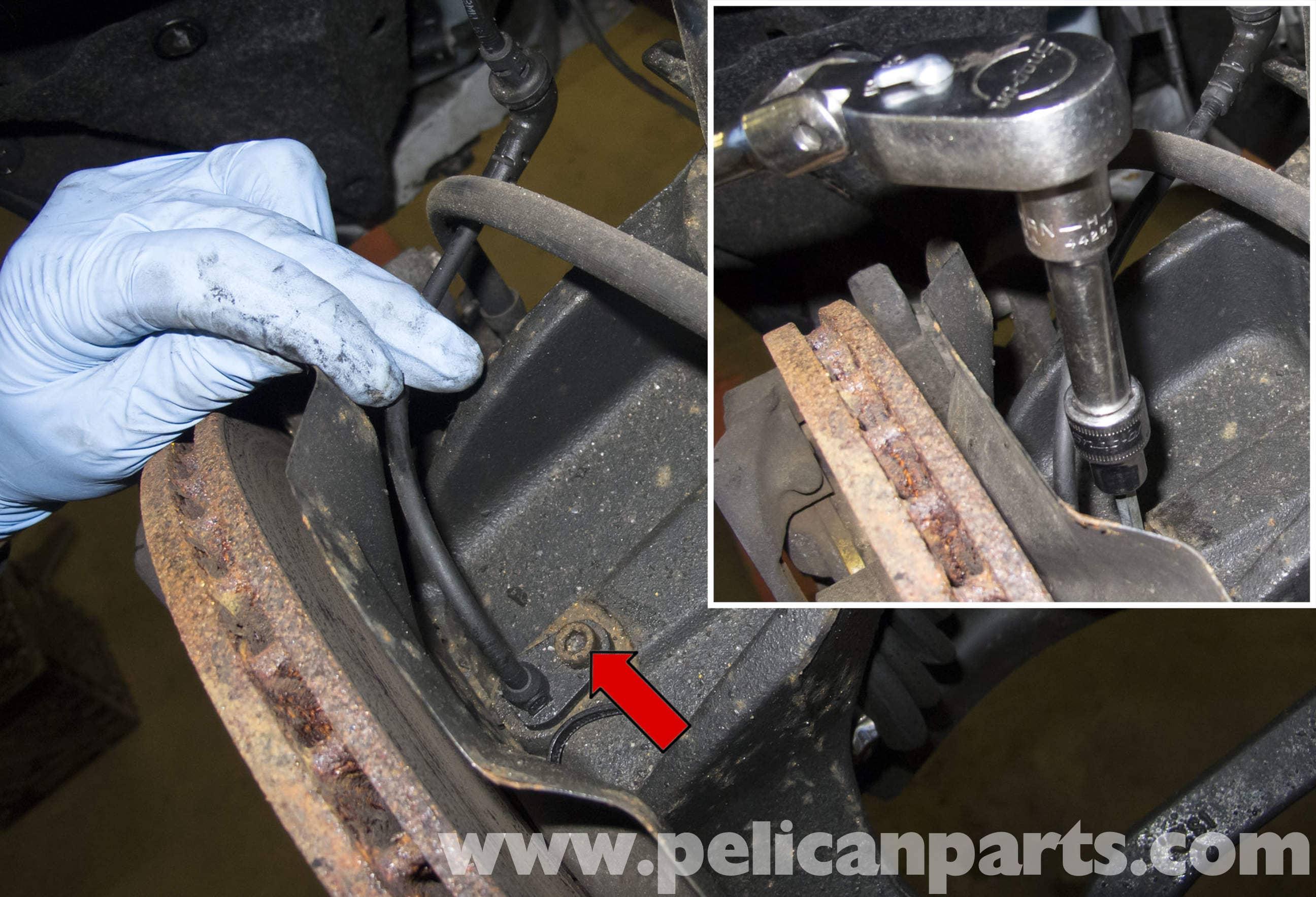 MINI Cooper R56 ABS Wheel Speed Sensor Replacement (2007