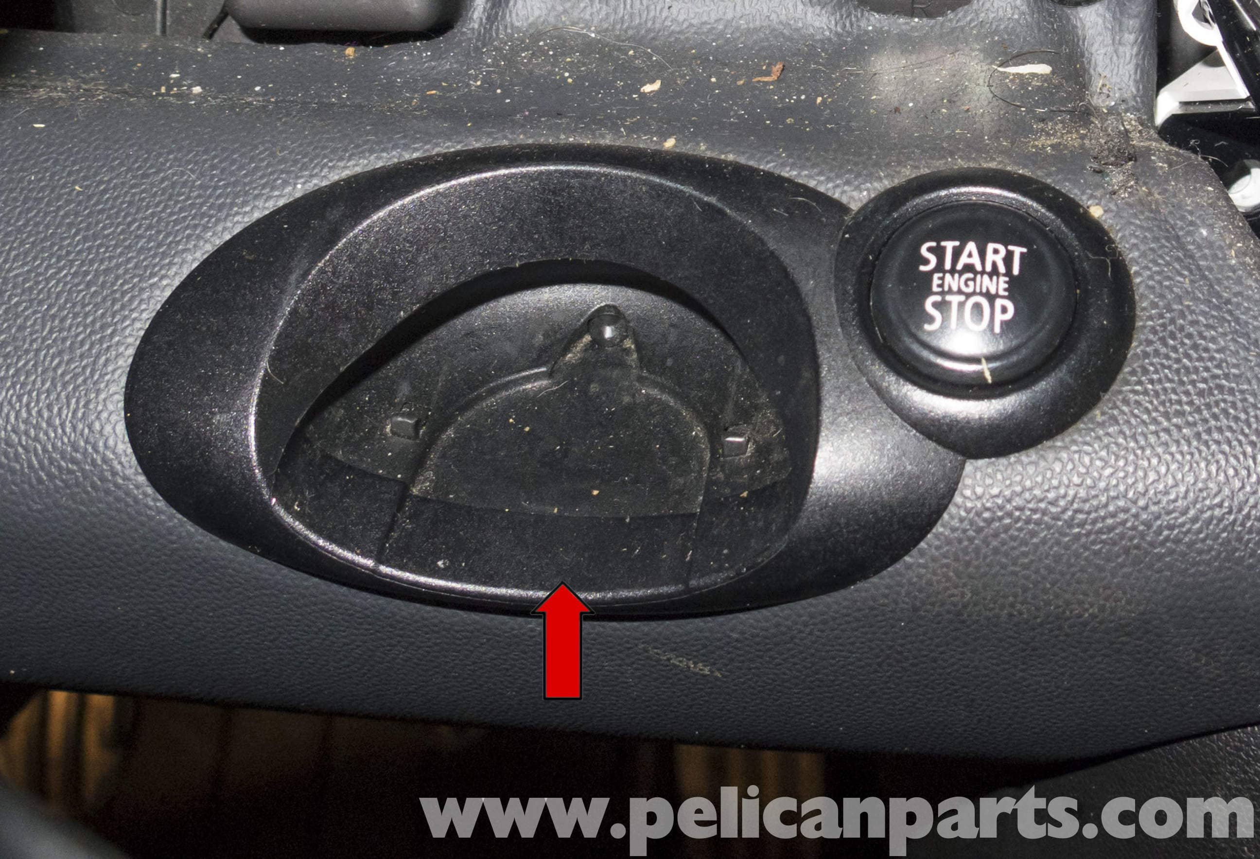 Mini Cooper R56 Remote Key Slot Replacement 2007 2011 Pelican Starter Diagram Large Image Extra
