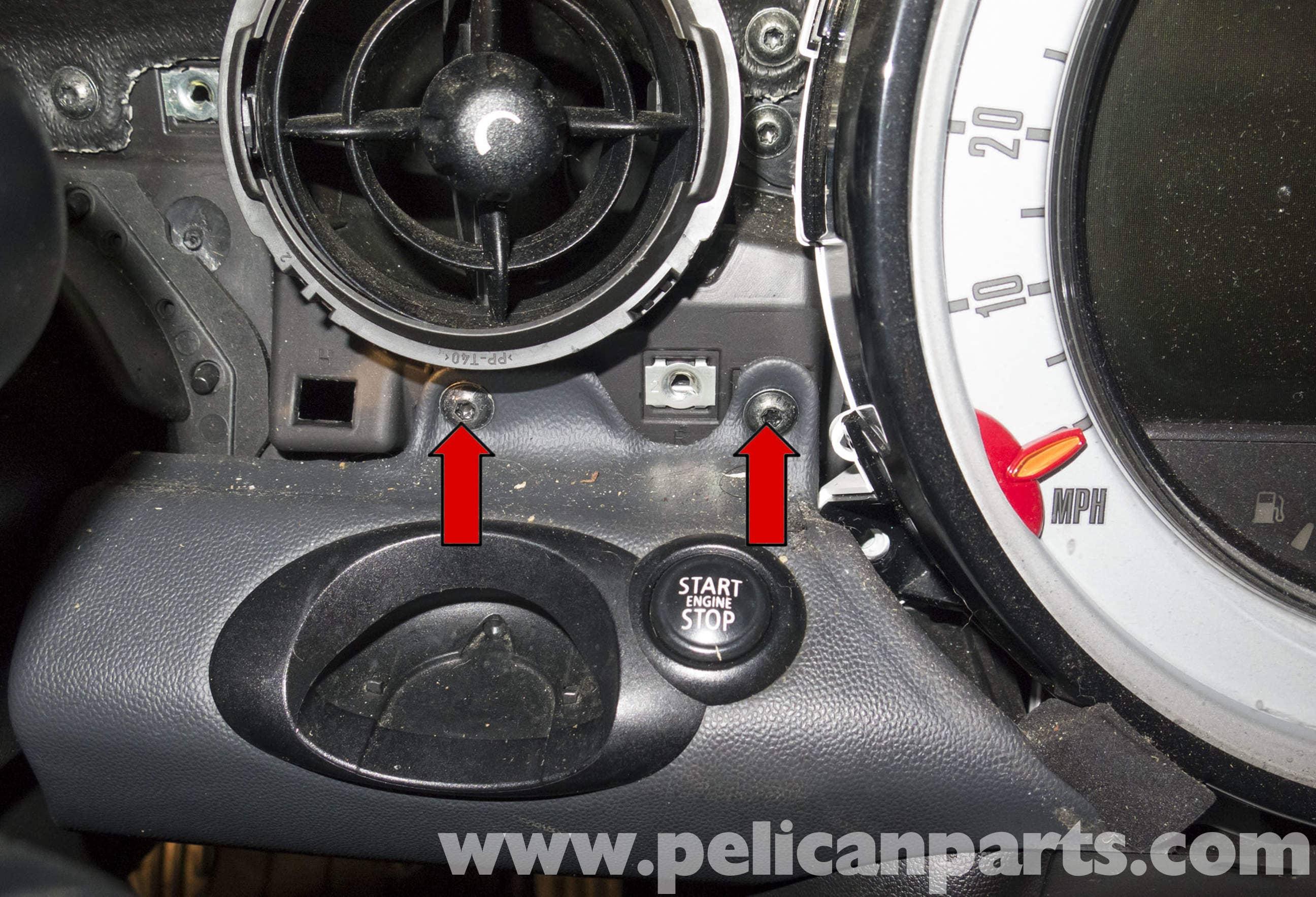 mini cooper r56 instrument cluster replacement 2007 2011 pelican rh pelicanparts com