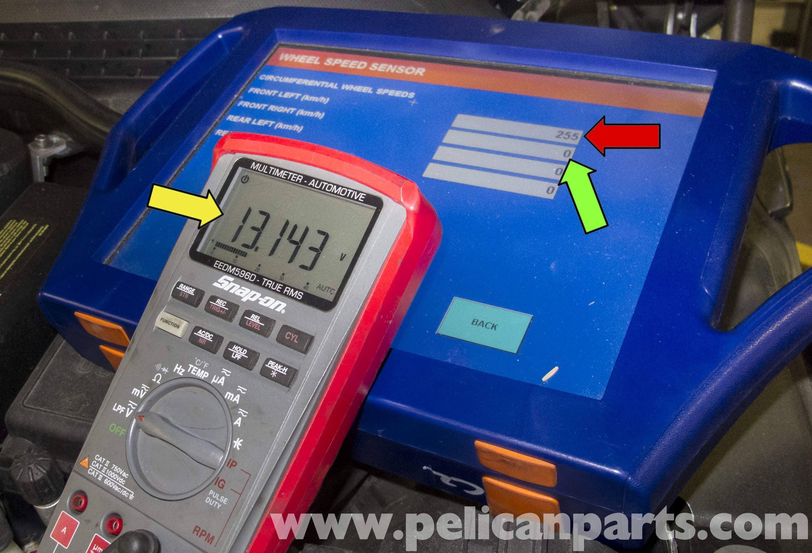 MINI Cooper R56 Wheel Speed Sensor Testing (2007-2011