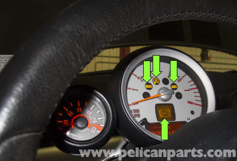 Mini Cooper R56 Wheel Speed Sensor Testing 2007 2011 Pelican