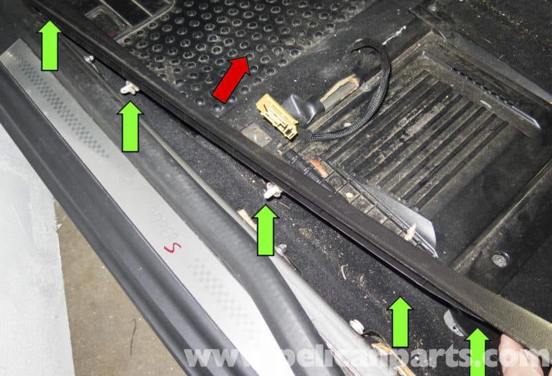 Mini Cooper R56 Doorsill Trim Replacement 2007 2011