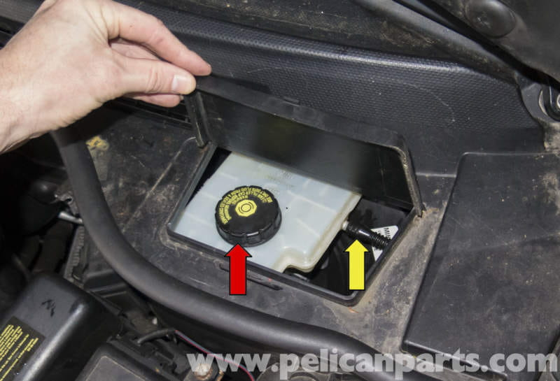 Pressure Brake Bleeder >> MINI Cooper R56 Brake Bleeding (2007-2011) | Pelican Parts ...