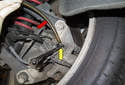 Bleed the right rear caliper, followed by the left rear wheel, then the right front caliper and finally the left front brake caliper.