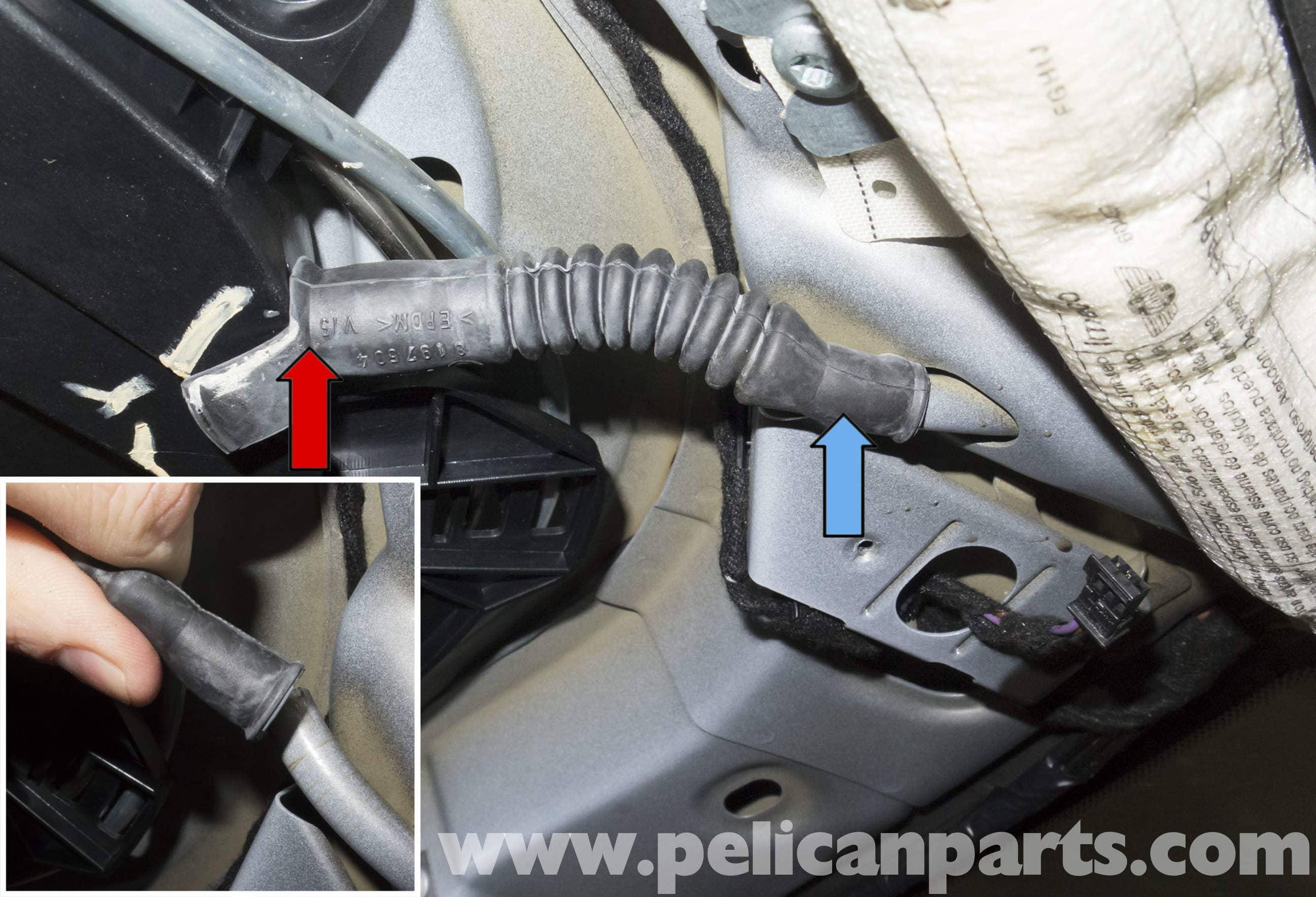 Mini R56 Sunroof Drain Repair R56 Cooper 2007 2013