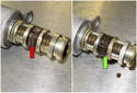 Exhaust: The VANOS solenoids are responsible for direct oil flow to the VANOS actuator and can become restricted over time on high mileage engines.