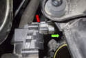 Pull the throttle housing off the intake manifold enough to access the electrical connector.