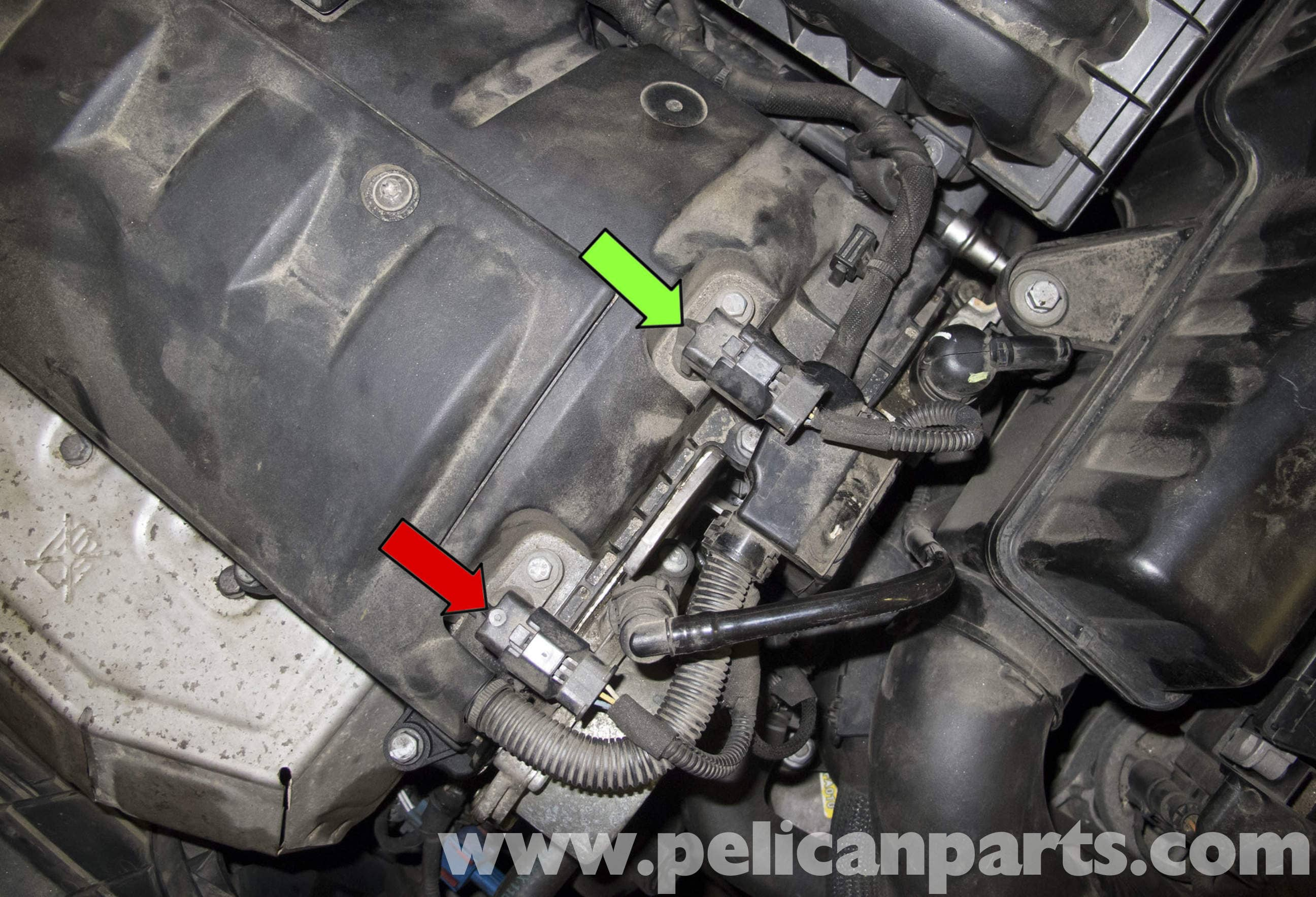 mini cooper r56 camshaft sensor replacement 2007 2011 pelican rh pelicanparts com Ford Crankshaft Position Sensor Location Dodge 4.7 Camshaft Sensor Location