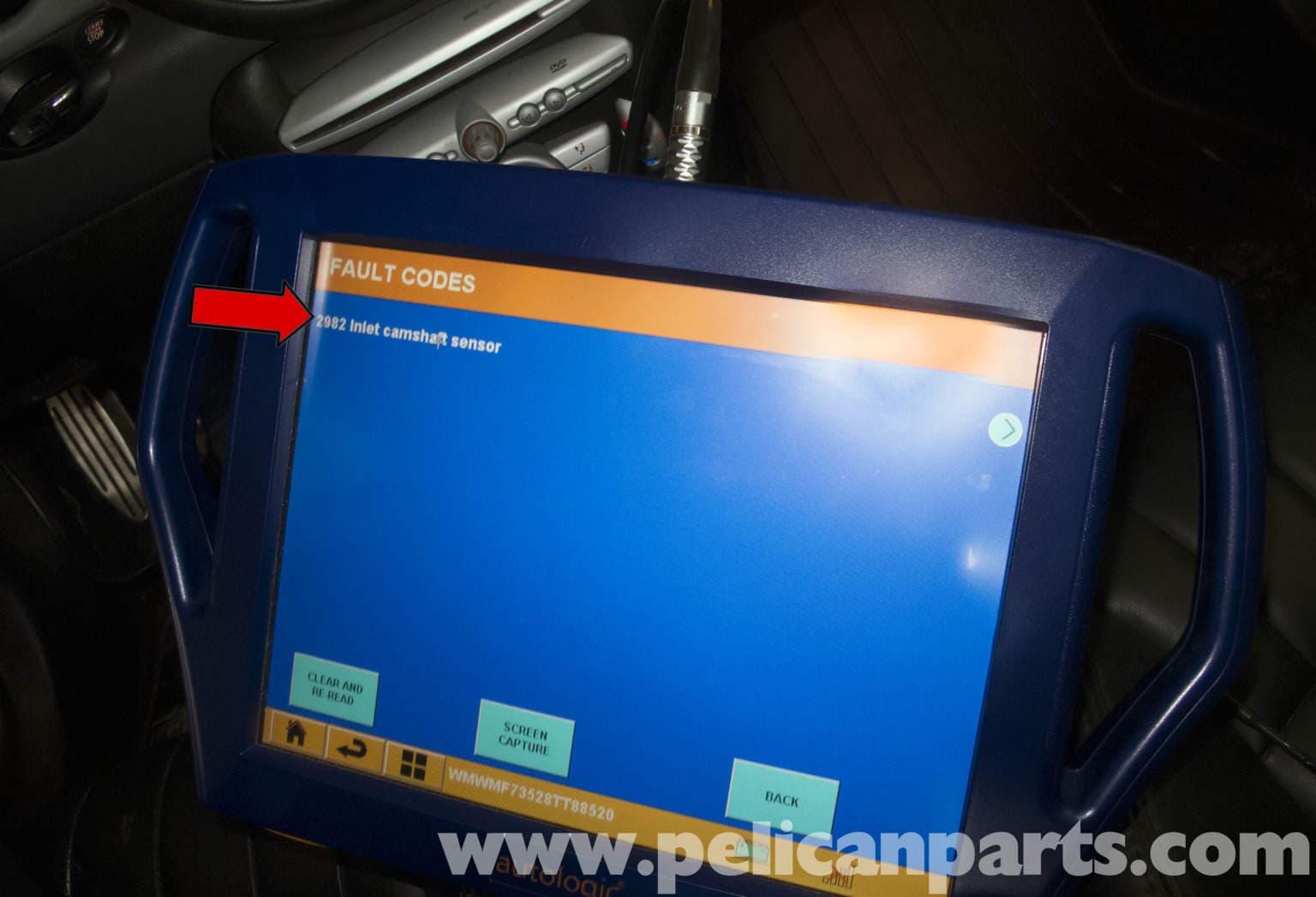 MINI Cooper R56 Camshaft Sensor Replacement (2007-2011