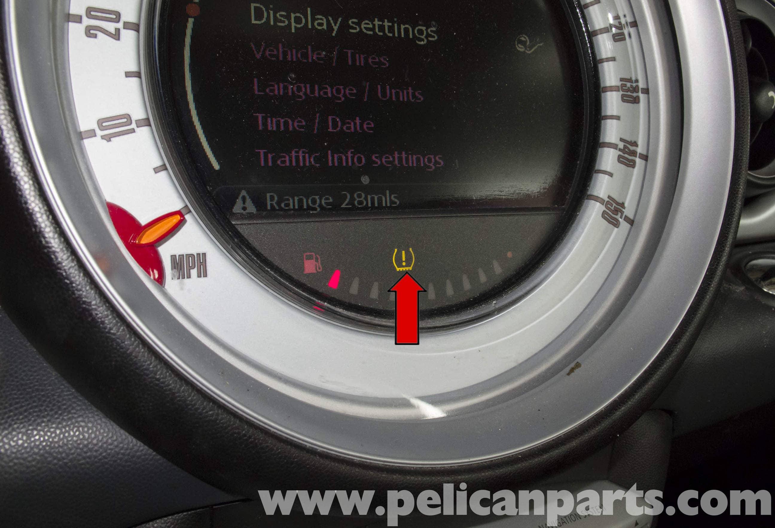 Mini Cooper R56 Tire Pressure Monitoring 2007 2011 Pelican Parts