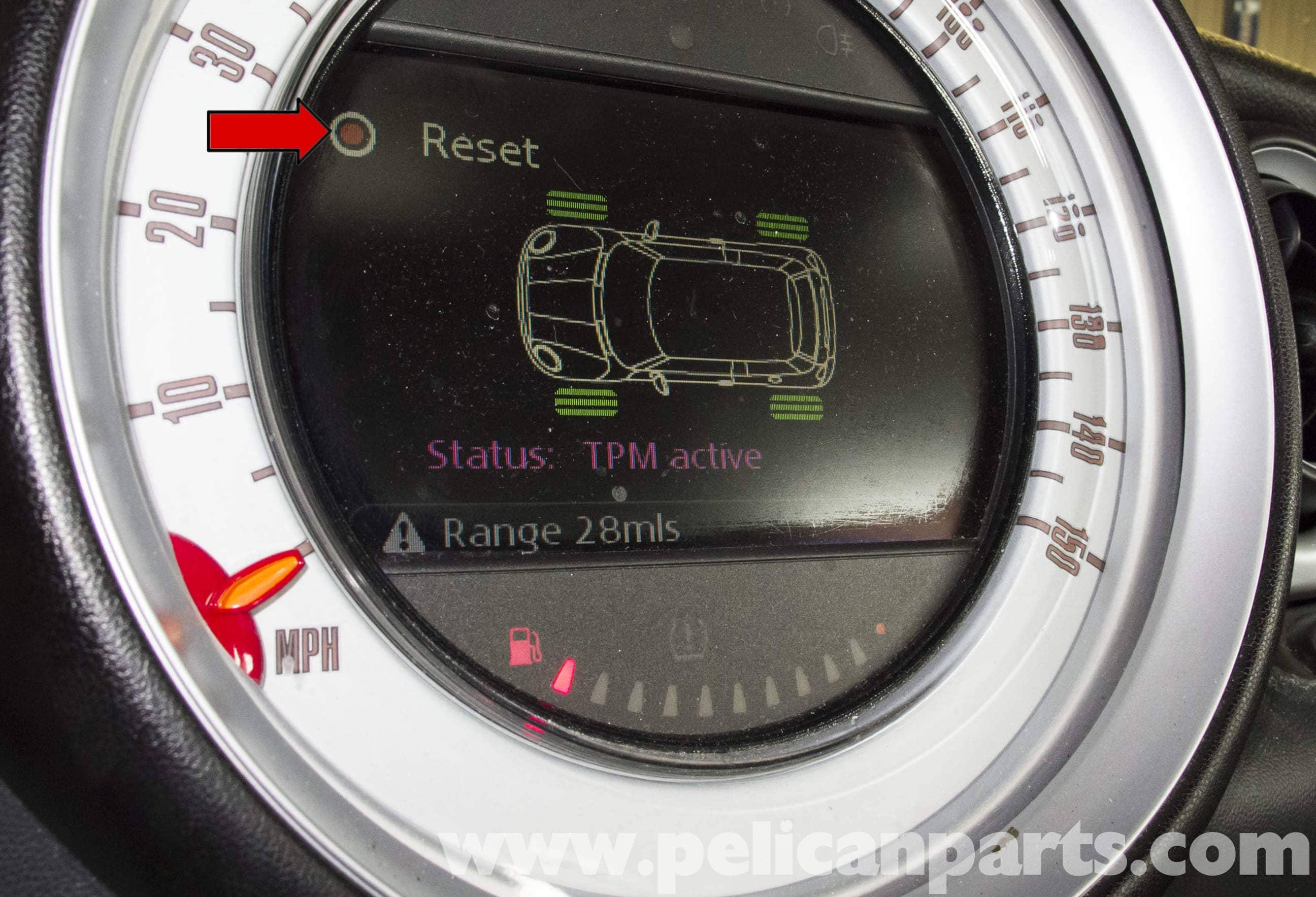 MINI Cooper R56 Tire Pressure Monitoring (2007-2011) | Pelican Parts
