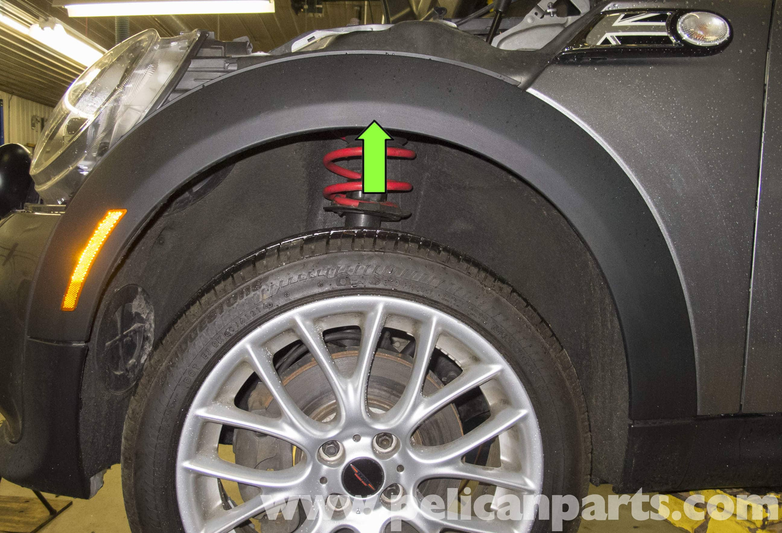 MINI Cooper R56 Front and Rear Wheel Well Arch Trim ...
