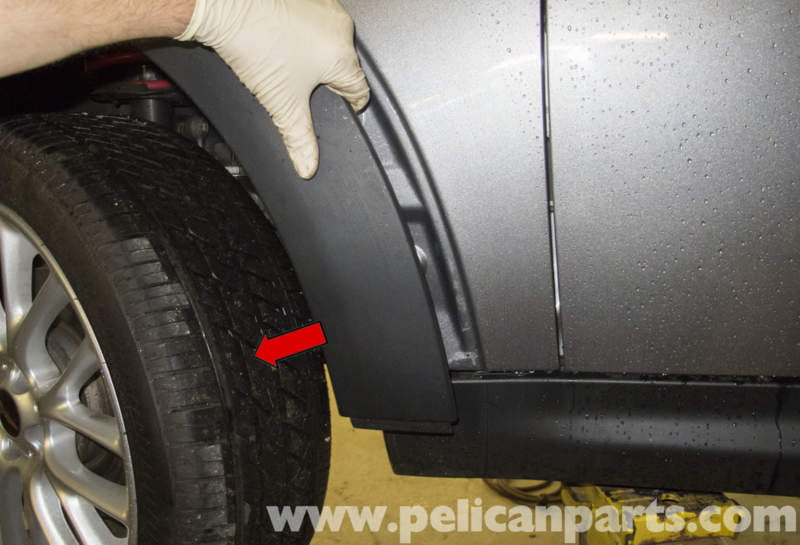 Mini Cooper R56 Front And Rear Wheel Well Arch Trim