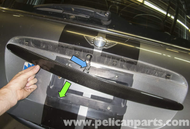 Mini Cooper R56 Tailgate Handle Replacement 2007 2011