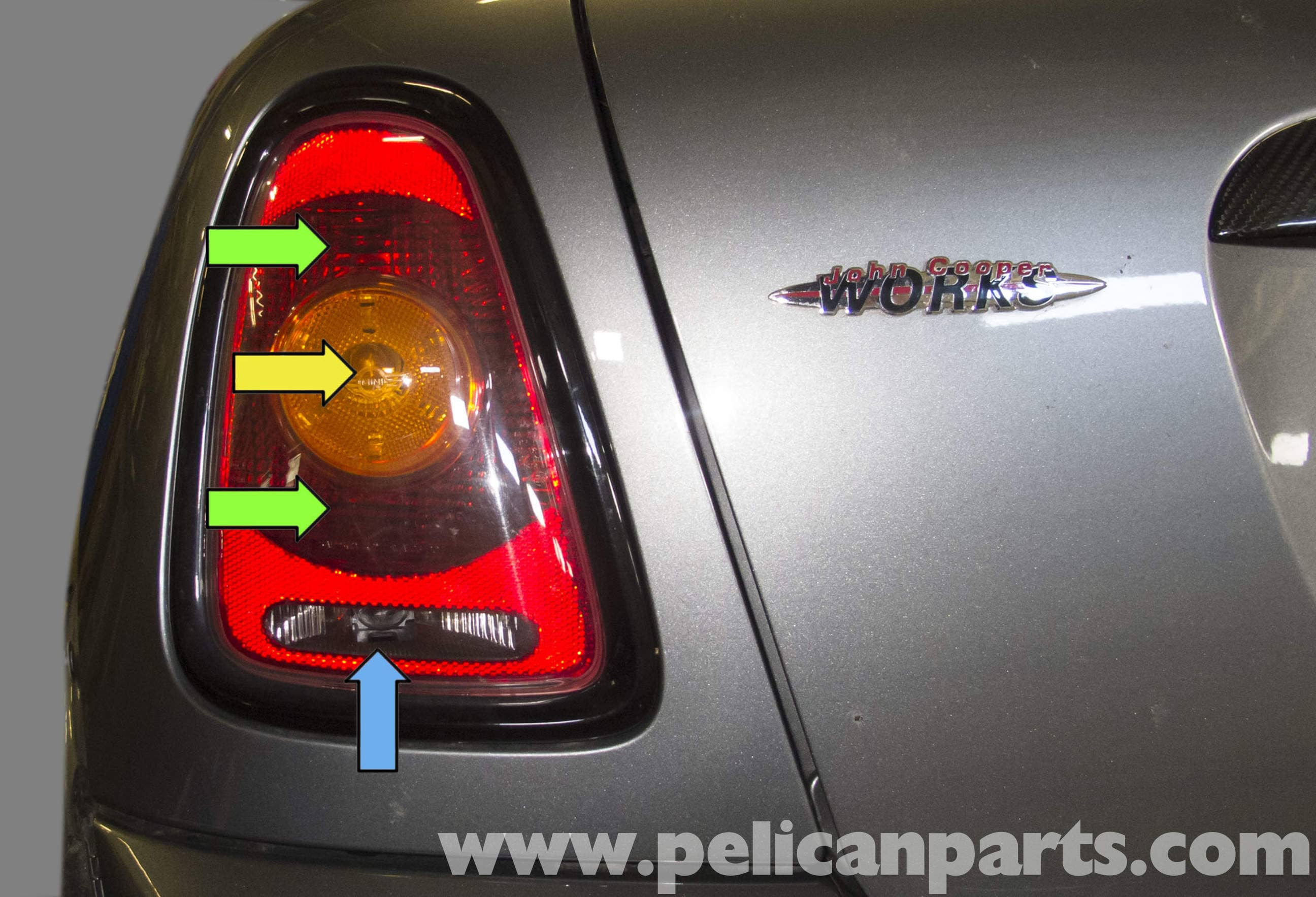 mini cooper r56 taillight replacement  2007