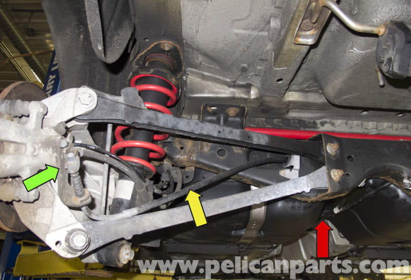 Mini Cooper R56 Parking Brake Cable Replacement 2007 2011