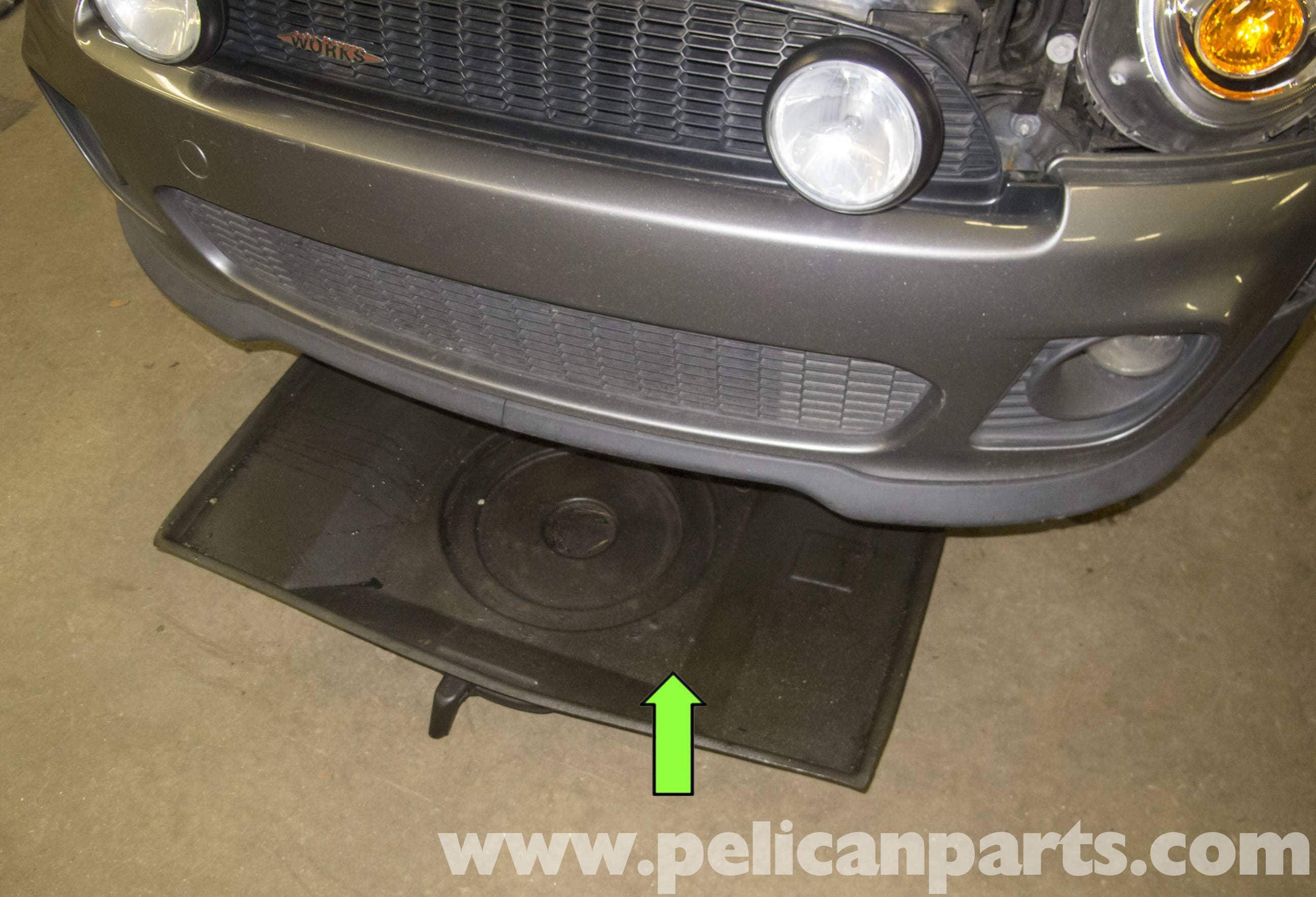 Pic on Mini Cooper Draining Filling Cooling System Jpg