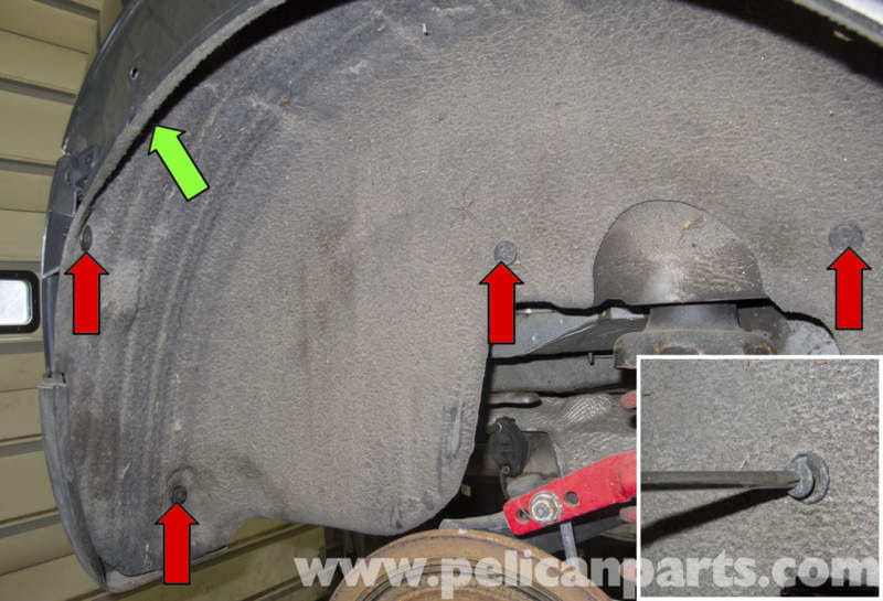 Wheel Well Liner >> MINI Cooper R56 Front and Rear Wheel Well Liner ...